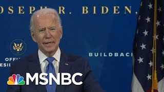 Biden Calls On Congress To Pass Covid-19 Relief Package 'Right Now' | MTP Daily | MSNBC