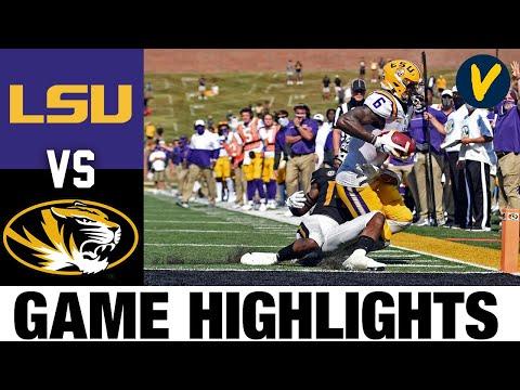 (Re Upload) LSU vs Missouri Highlights | Week 6 College Football Highlights | 2020 College Football