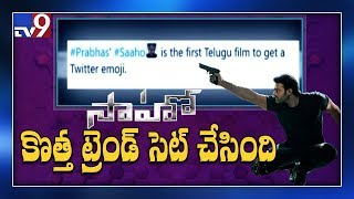 Saaho becomes the first Telugu film to get Twitter emoji..