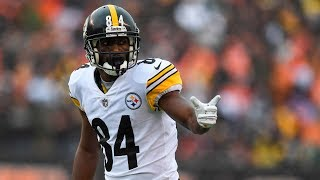 By The Numbers: WR Antonio Brown