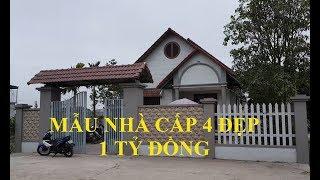 Thăm Quan Mẫu Nhà Cấp 4 TO RỘNG ĐẸP Tại Ninh Bình