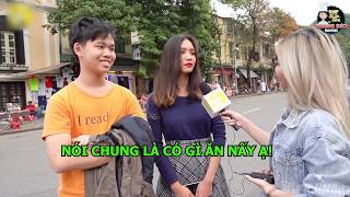 Gái Xinh Hà Nội Thích Ăn Gì Về Đêm I Jin88 Phỏng Vấn Troll 2019