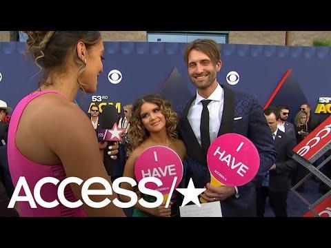 ACM Awards 2018: Maren Morris & Ryan Hurd Play Newlywed Never Have I Ever!   Access