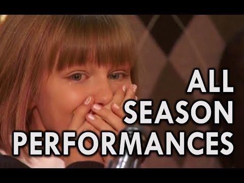 Grace VanderWaal: WINNER America's Got Talent 2016 - ALL PERFORMANCES (HD)