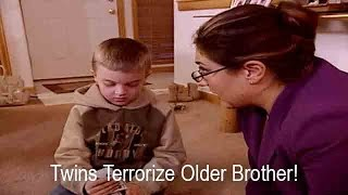 Twin Girls Terrorize Older Brother | Supernanny