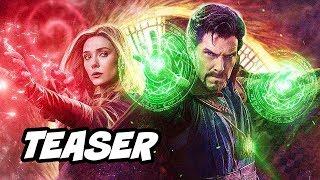 Doctor Strange Multiverse of Madness Teaser Breakdown - Avengers Marvel Phase 4 Easter Eggs
