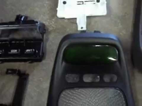 2002 Explorer Sport Trac Overhead Console Display Repair