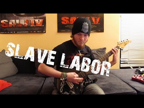 Fear Factory - Slave Labor (HD Guitar Cover)