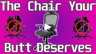 DONT Buy a Gaming Chair!   Hyken Technical Mesh Review and Assembly   The Best Chair Under $200?