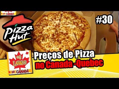 Preços de Pizza no Canada - Quebec | Quanto custa viver em Trois Rivieres | OS LABAD'S NO CANADA
