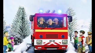 New Fireman Sam 🌟Christmas in Pontypandy 🎄 ❄️Christmas Special 🎄LIVE Children's Cartoons
