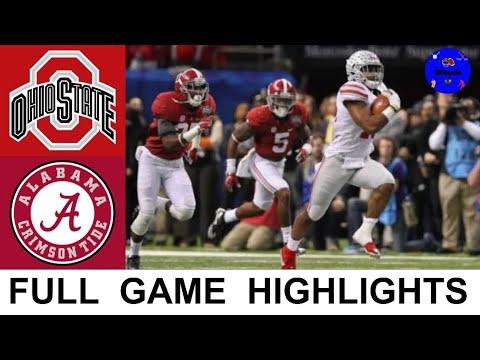 Alabama vs Ohio State Highlights | 2015 Sugar Bowl | College Football Playoff Semifinal Highlights