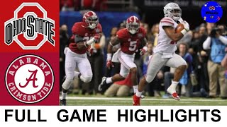 Alabama vs Ohio State Highlights | 2015 Sugar Bowl | College Football Playoff Semifinal Highlights