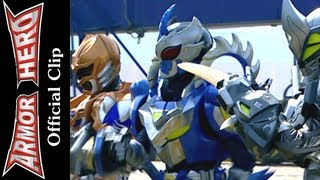 Armor Heroes Fight with the Three Monsters (1) - Armor Hero Official English Clip [HD] - 36
