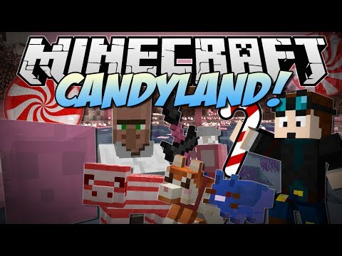 Minecraft   CANDYLAND! (Candy Cane Pigs, Chocolate Dogs, Candy Dimension & More!)   Mod Showcase - Smashpipe Games