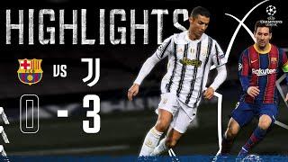 Barcelona 0-3 Juventus | Ronaldo & McKennie Seal Top spot in Camp Nou! | Champions League Highlights
