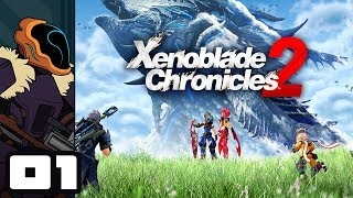 Let's Play Xenoblade Chronicles 2 - Nintendo Switch Gameplay Part 1 - Crab Battle!?