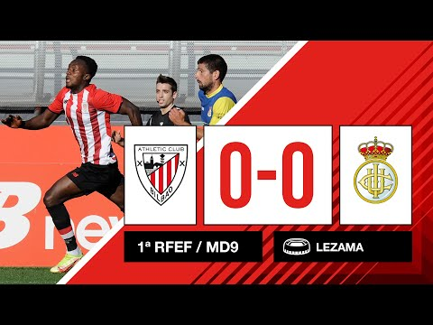 ⚽ Resumen I 9. J – 1ª RFEF I Bilbao Athletic 0-0 Real Unión Club I Laburpena