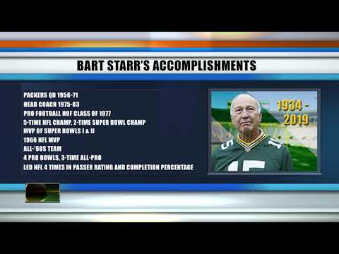 Revisiting Bart Starr's accomplishments