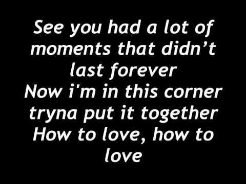 How To Love - Demi Lovato lyrics HD