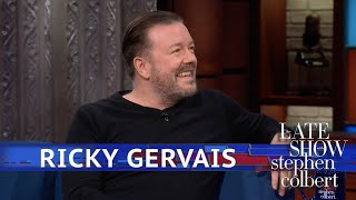Ricky Gervais Chooses Dogs Over Gods