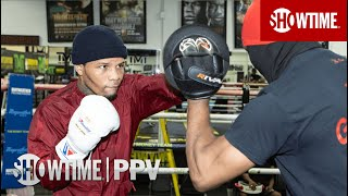 Gervonta Davis: Media Workout | Davis vs. Santa Cruz | Oct. 31st at 9pm ET/PT on SHOWTIME PPV