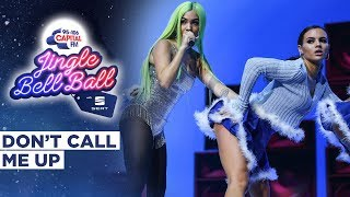 Mabel -  Don't Call Me Up (Live at Capital's Jingle Bell Ball 2019) | Capital