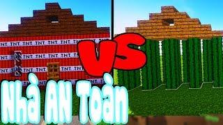 Thử Thách Làm Nhà An Toàn Trong Minecraft (Minecraft)