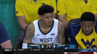 NCAAB 2018 11 15 Monmouth vs West Virginia 720p60