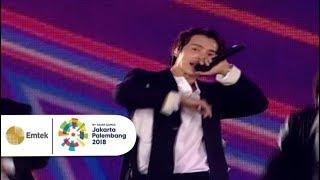 Super Junior - Bonamana | Closing Ceremony Asian Games 2018