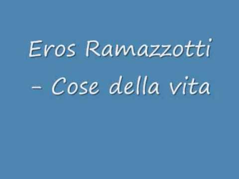 Eros Ramazzotti - Cose della vita ( CHIPMUNKS )