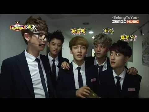 [韓語中字]130824 Show Champion BackStage - EXO