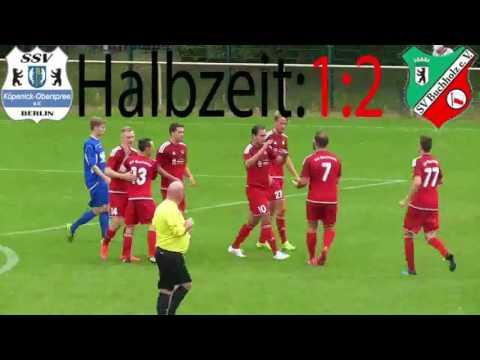 SSV Köpenick-Oberspree - SV Buchholz (Bezirksliga, Staffel 2) - Spielszenen   SPREEKICK.TV