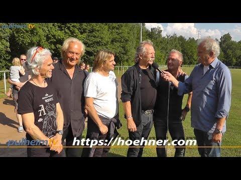 Höhner drehen Video in Stommeln und im Höhnerstall in Köln.