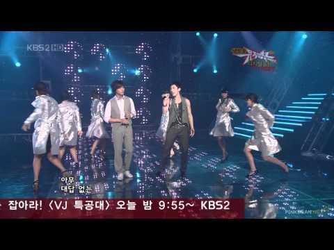 金烔完+ANDY. Propose+秘密. 080606 Music Bank