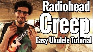 Radiohead - Creep Ukulele Tutorial - Easy Uke Lesson With Play Along