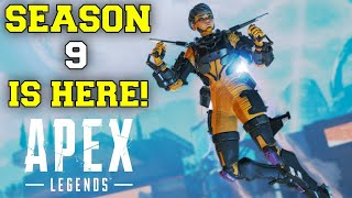 🔴SEASON 9! - APEX LEGENDS (NEW LEGEND, WEAPON, GAME MODE, MAP, GAMEPLAY) (XBOX SERIES X)