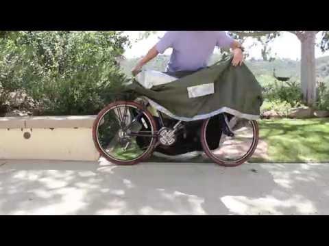 YardStash Bicycle Cover Full Zip II Features