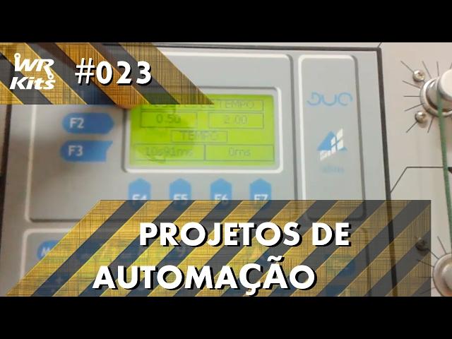 ALIMENTADOR DE CÃES COM CLP ALTUS DUO | Projetos de Automação #023