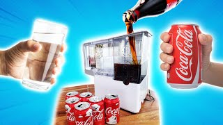 Can I turn COKE into WATER? Mystery Tech