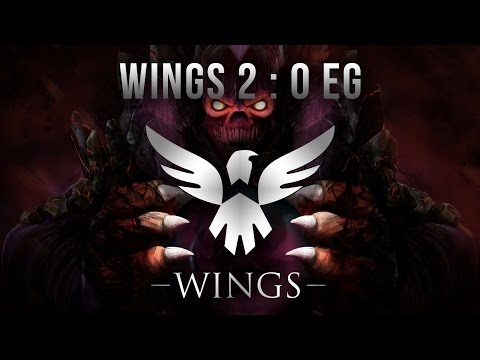 2 WINGS : 0 EG Sick Upper Bracket Finals TI6