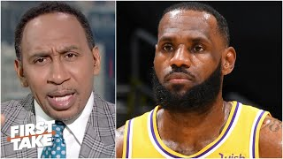 Stephen A. and Max react to LeBron saying he won't ever get back to '100 percent' again | First Take