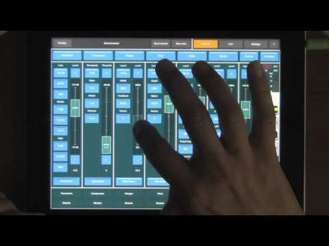 Master FX synth processing