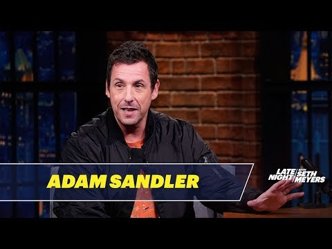 Adam Sandler Shared an SNL Office with Chris Farley, Chris Rock and David Spade