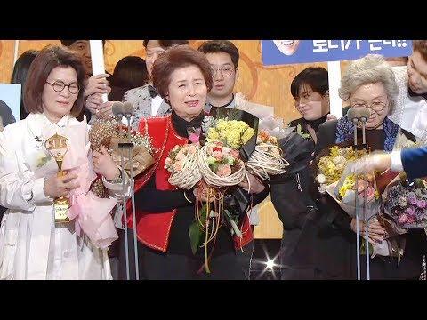 '미우새' 어머님들, 영광의 연예대상 수상 '이상민 폭풍오열' @SBS 연예대상 2회 20171230