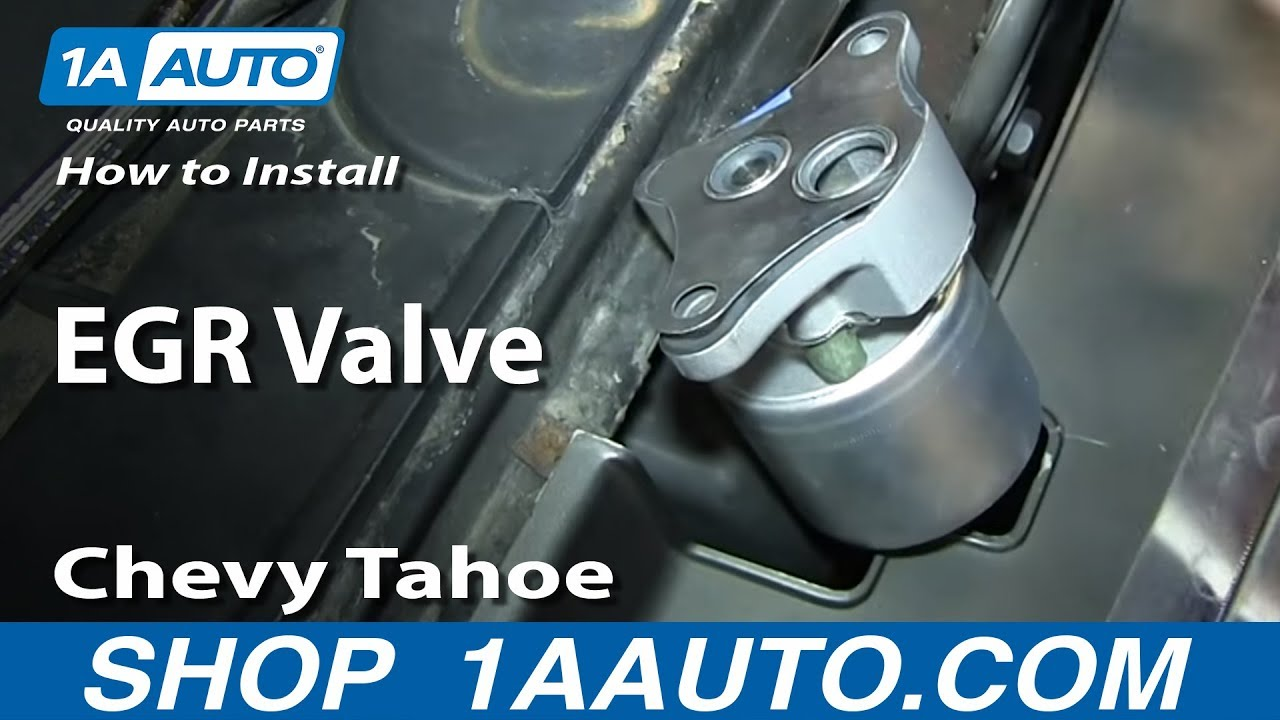 How To Install Replace Egr Valve 1996 99 5 7l Chevy Tahoe