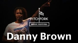 "Danny Brown performs ""Monopoly"" at Pitchfork Music Festival 2012"