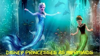♛ Frozen games ♛ Here Are All The Disney Princesses As Mermaids
