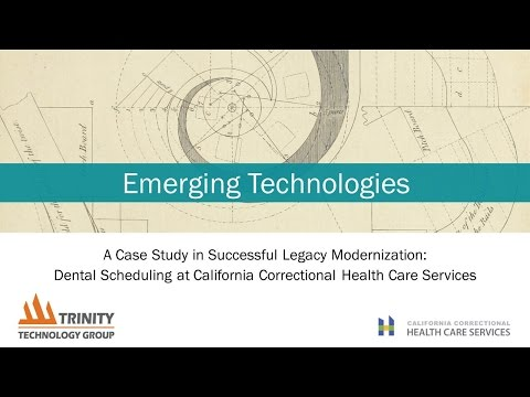 ET2016 Session 13: A Case Study in successful Legacy Modernization - Trinity