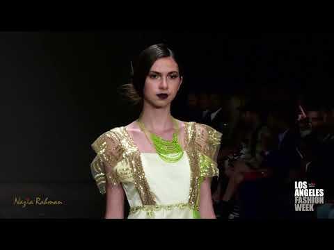 Nazia Rahman at Los Angeles Fashion Week powered by Art Hearts Fashion LAFW